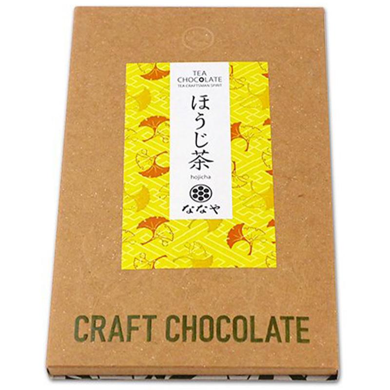 日本 丸七製茶ななや 手工製焙茶 日式朱古力 50g【市集世界 - 日本市集】