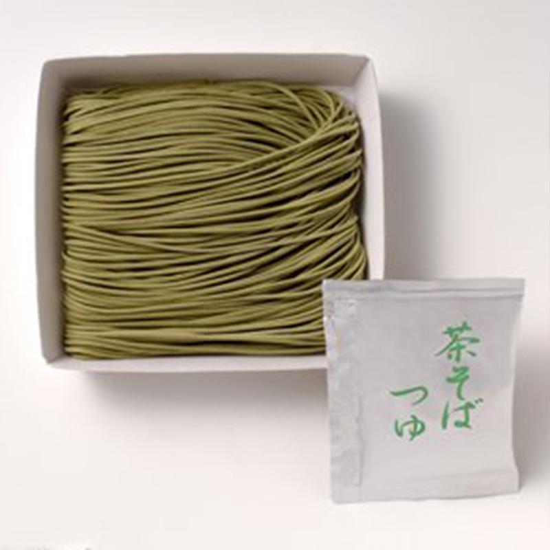 日本 丸七製茶ななや 名貴手工藝 抹茶蕎麥麵 連湯底汁禮盒 (90gx3個)【市集世界 - 日本市集】