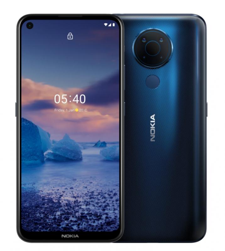 Nokia 5.4 (4+128GB) 智能電話 [藍色]