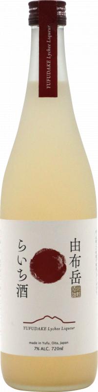 由布岳 荔枝酒 720ML