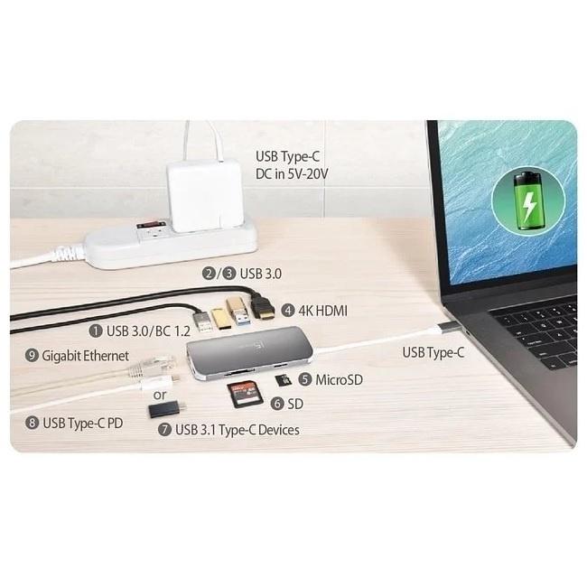 【香港行貨】 J5create JCD383 USB Type-C Multi Adapter