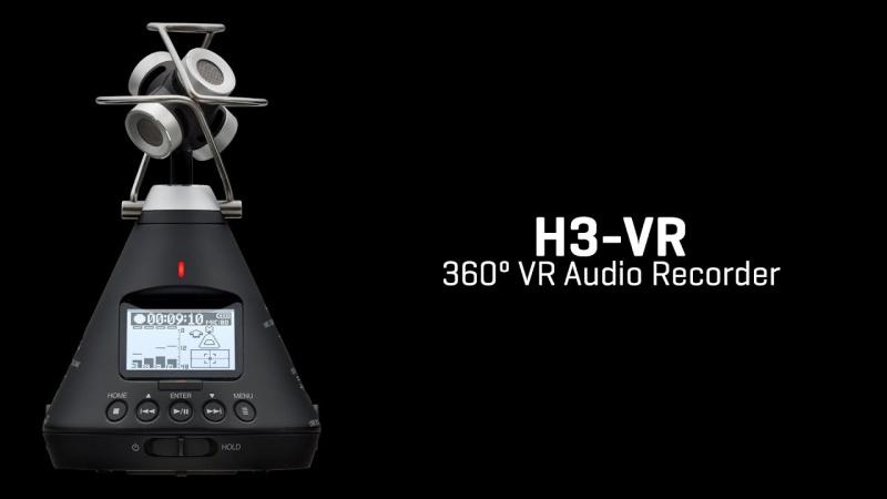 Zoom H3-VR 360度 錄音機