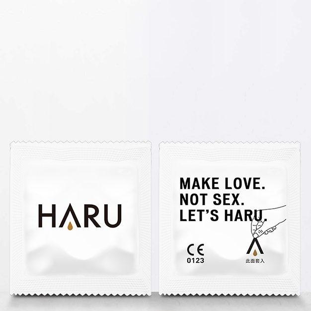 Haru G-SPOT 凸點環形型 4片裝 乳膠保險套