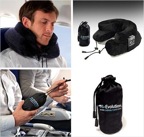 美國Cabeau 多功能旅行訓覺神器 人體工學記憶頸枕 旅行枕頭 現貨