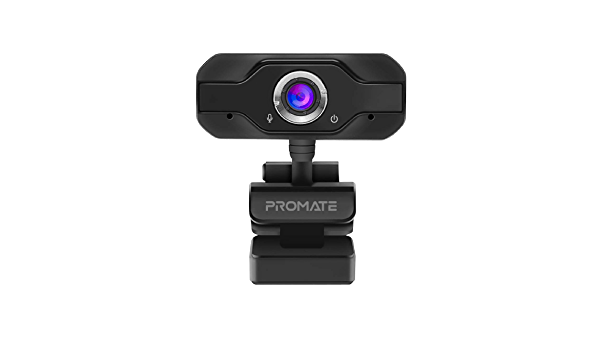Promate Widescreen Full-HD Webcam with Noise-Reduction Mic
