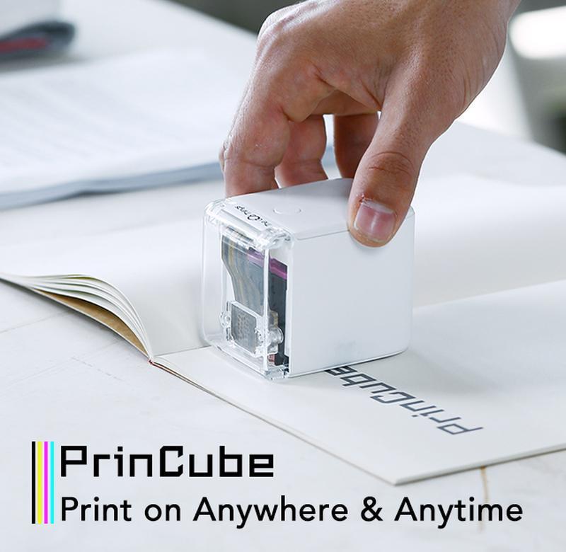 MBrush Portable Mobile Color Printer 手持彩色打印機
