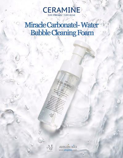 Ceramine 碳酸水潔面泡沫