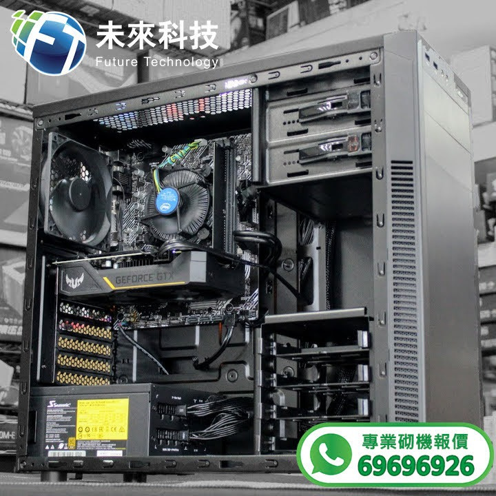 【📞Whatsapp:69696926 專業組裝電腦 全網最平 💡最快四小時內送到🚀】Intel Core I5-10400F處理器 / ASUS PRIME H410M-K主機板/ LEXAR DDR4 8GB 2666MHz UDIMM DESKTOP高速記憶體/ PATRIOT P210 512GB M.2 2280 SSD