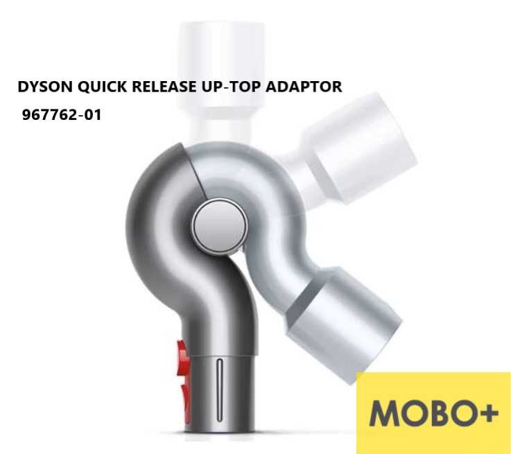 DYSON 螢光罅縫吸頭 970466-01 / 透明伸縮軟吸頭967764-01 /固定吸頭967762-01