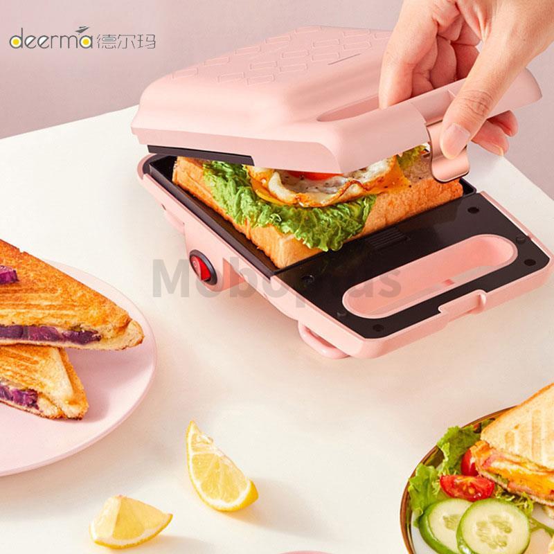 DEERMA 三文治輕食早餐機 DEM-MZ10 2-5天發貨