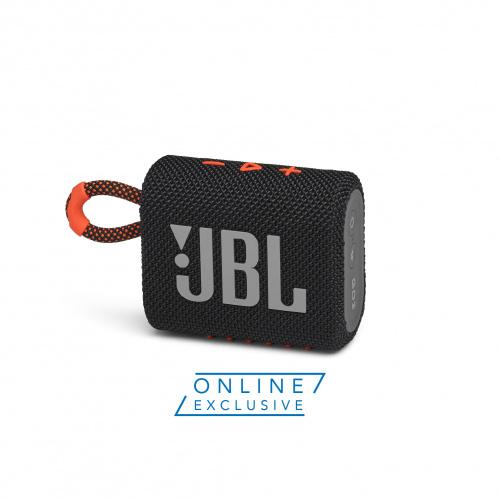 JBL GO3 迷你防水藍牙喇叭 [黑橙色] [港澳地區網上獨家配色]