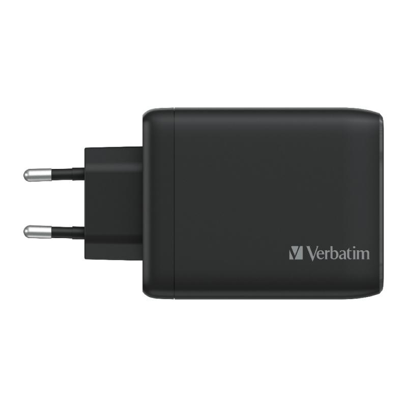 Verbatim 4 Port 100W PD 3.0 & QC 3.0 GaN USB充電器(66545)