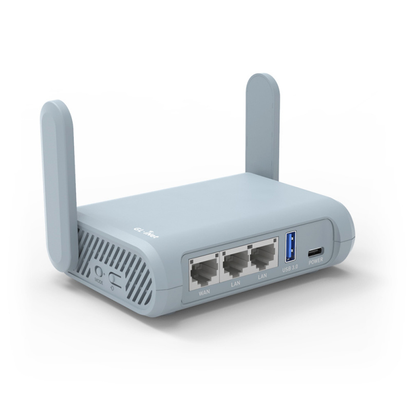 GL.iNet GL-MT1300(Beryl) Pocket-Sized Dual Band IPv6 VPN安全路由器
