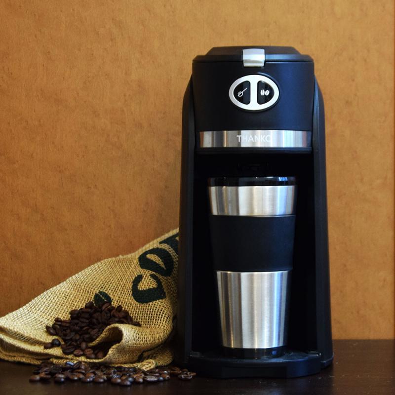 日本Thanko 磨豆沖粉雙用式咖啡機 - My Barista 我的咖啡師