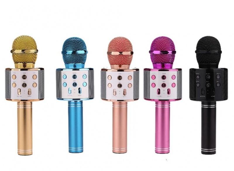 卡拉OK咪 WS-858L 無線麥克風和Hifi揚聲器