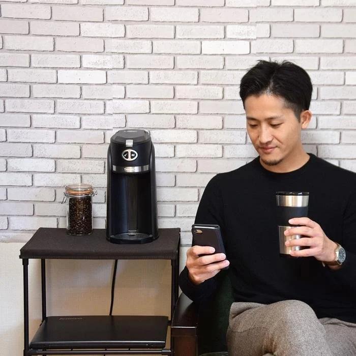 Thanko My Barista 磨豆沖粉雙用式咖啡機
