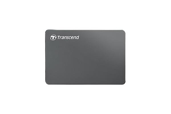 Transcend StoreJet 25C3N 鋁殼設計,絕對輕巧