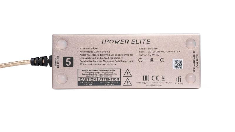 iFI iPOWER Elite降躁DC變壓器