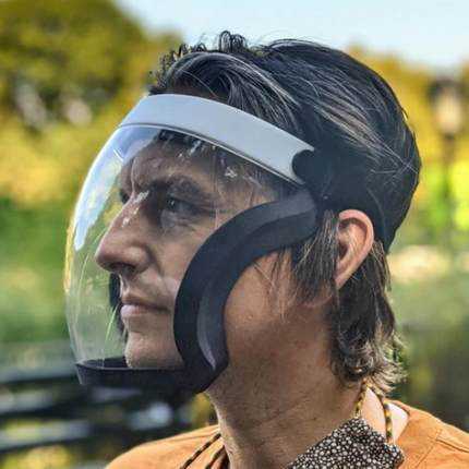 ACTIVE SHIELD 同款多用途透明防護面罩
