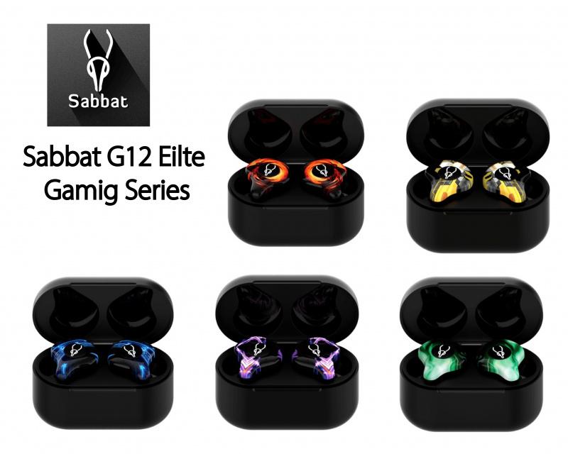 Sabbat G12 Eilte Gaming Series 入耳式真無線藍牙耳機