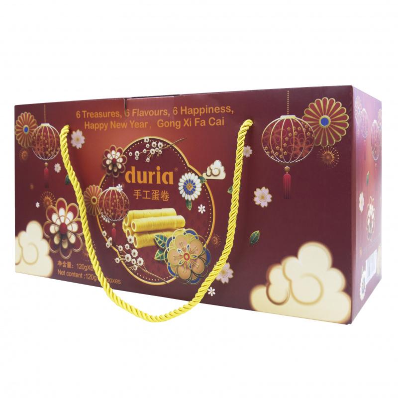 Duria 六福賀年蛋捲禮盒 (6 款口味)