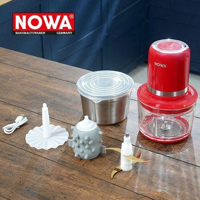 NOWA - NWA-403 鈦金屬塗層多功能無線攪拌機 (紅色)