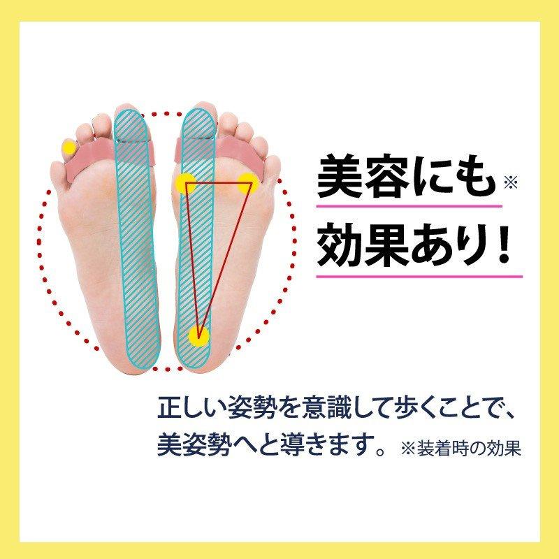 大山式 - 女性專用矯正腳趾環 (一對)(粉色)(平行進口)
