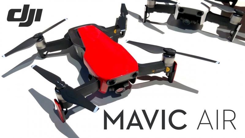 Mavic Air 4K拍攝全新輕巧型航拍機 [紅色]