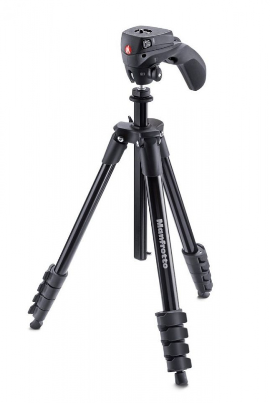 Manfrotto Compact Action Black 三腳架