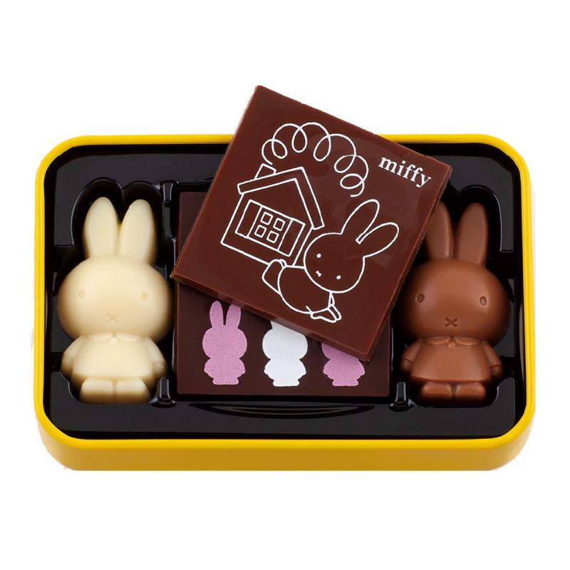 日版Morozoff x Miffy 超限定朱古力 鐵罐禮盒 (1盒4粒)【市集世界 - 日本市集】