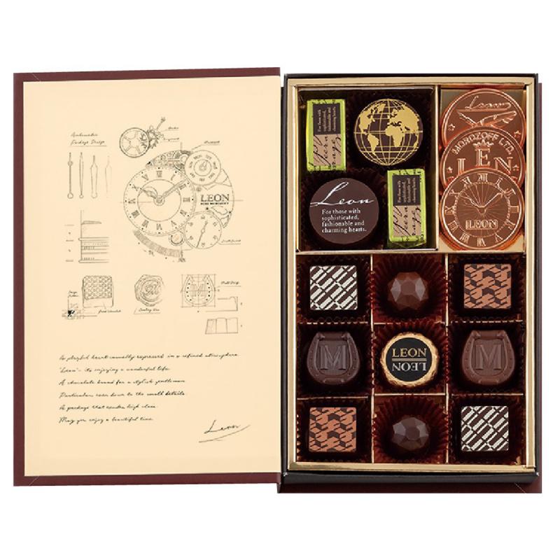 日版Morozoff《時間之書》朱古力禮盒 (1盒16粒)【市集世界 - 日本市集】