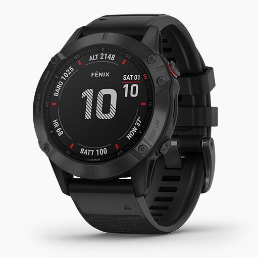 Garmin Fenix 6 Pro GPS 智能運動手錶 - 英文版
