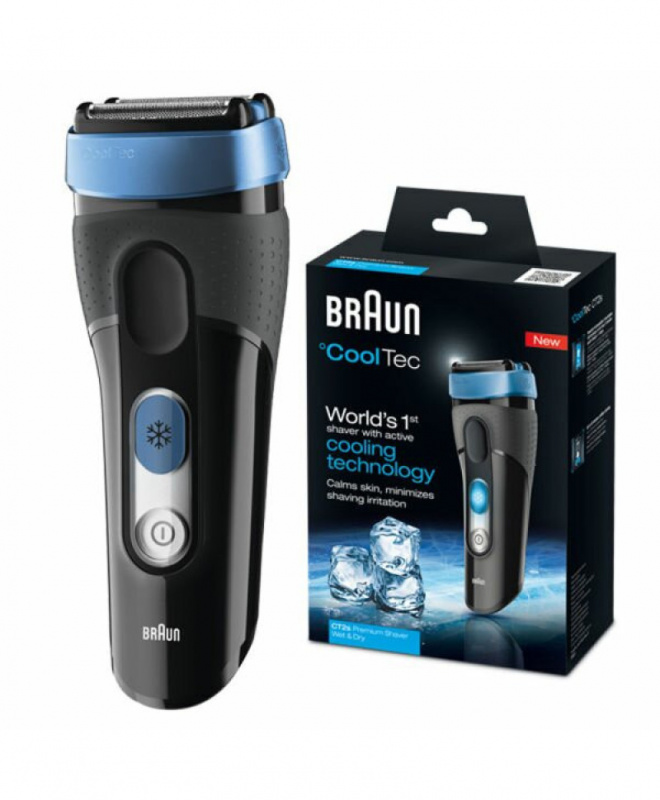 Braun Series 3 CoolTec CT2s 冰感科技乾濕兩用電鬚刨