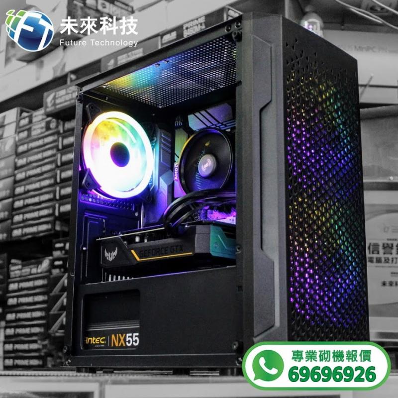 【📞Whatsapp:69696926 專業組裝電腦 全網最平 💡最快四小時內送到🚀】AMD Ryzen 5 3600處理器 / ASUS TUF GAMING B550M-PLUS (WI-FI)主機板/ LEXAR DDR4 8GB 2666MHz UDIMM 高速記憶體/ PNY CS3030 500GB M.2 2280 SSD