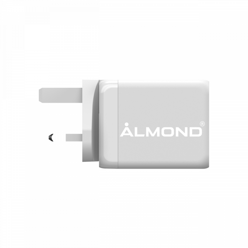 ALMOND PD065UK 65W 快速充電器 (QC&PD)