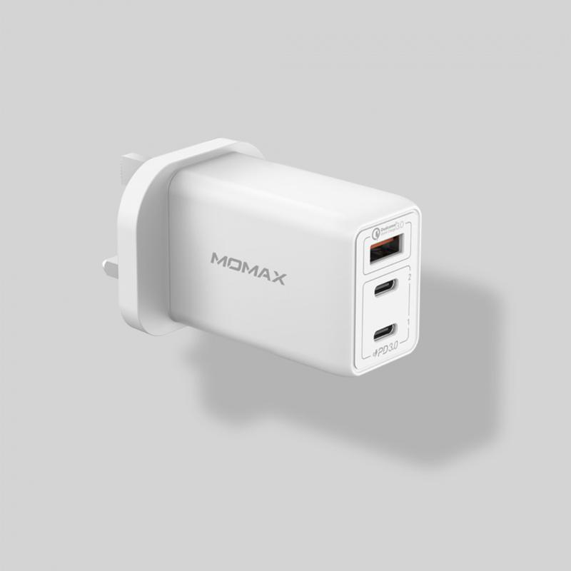 Momax One Plug 3-USB智能充電器(2色)