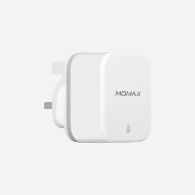Momax U.Bull Junior 雙USB數碼充電器(白)#UM2