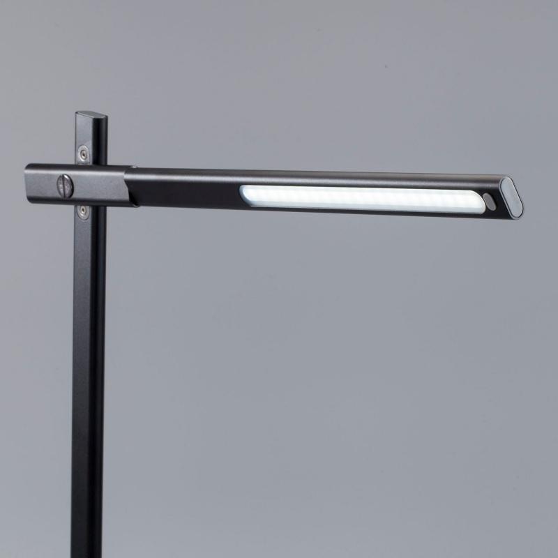 Q.Led座枱燈連無線充電底座(10W)(灰)#QL1AUKE