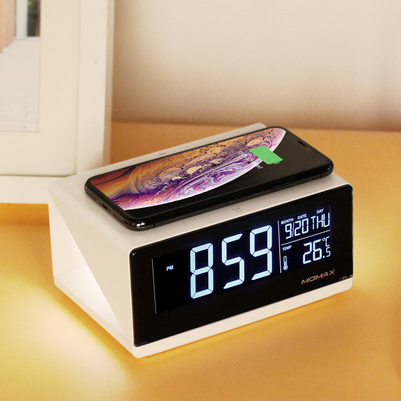 Q.Clock 無線充電子鬧鐘#QC1UKW