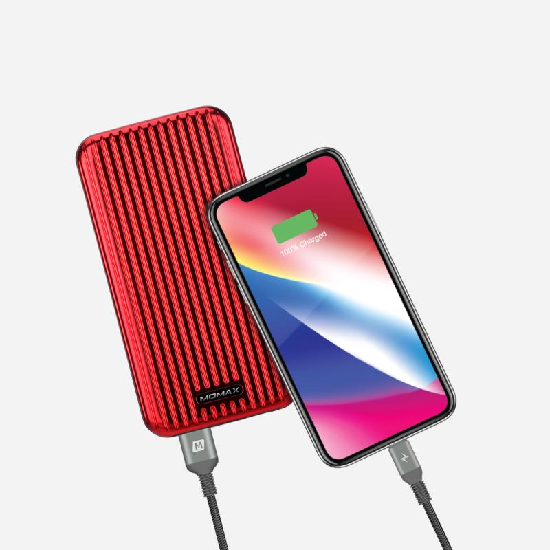 Momax EliteLink Lightning to USB-A 2M三重編織線