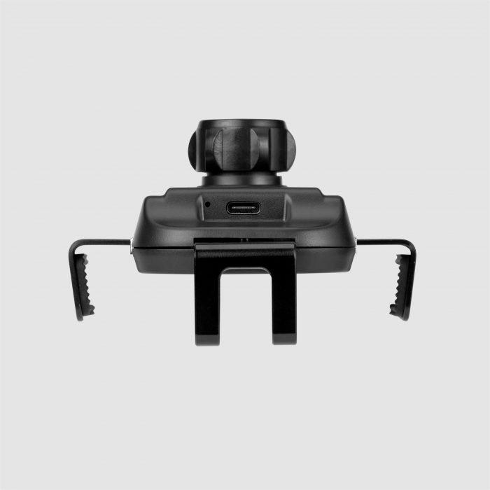 Q.Mount Smart 3重力無線智能車充支架(NEW)(黑)#CM16D