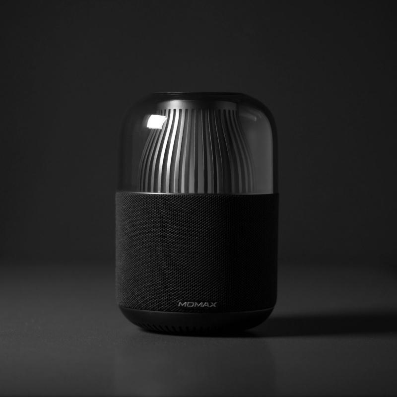 Momax Space 真無線全指向音箱及氣氛燈(黑)