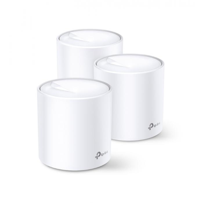 TP-Link - Deco X60 (3隻裝) - AX3000 Wi-Fi 6 11ax Mesh 零死角系統
