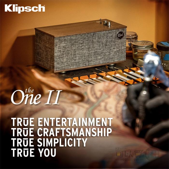 Klipsch The One II 藍牙喇叭