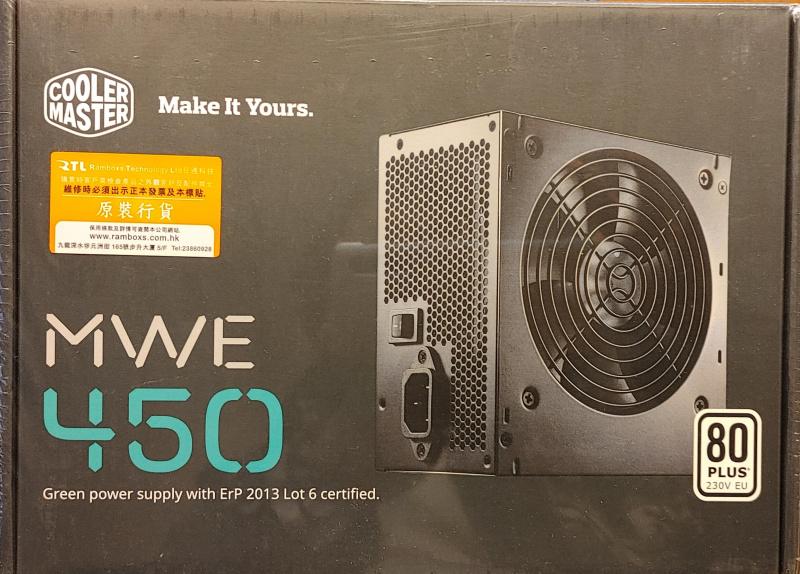 CoolerMaster MWE450 power supply