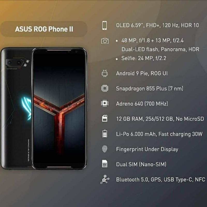 快閃優惠~高配國際版ASUS ROG II (12+512GB $2xxx⚡️)