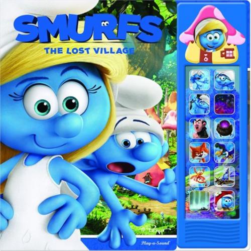 PHOENIX 藍精靈3 The Lost Village Board book 發聲書