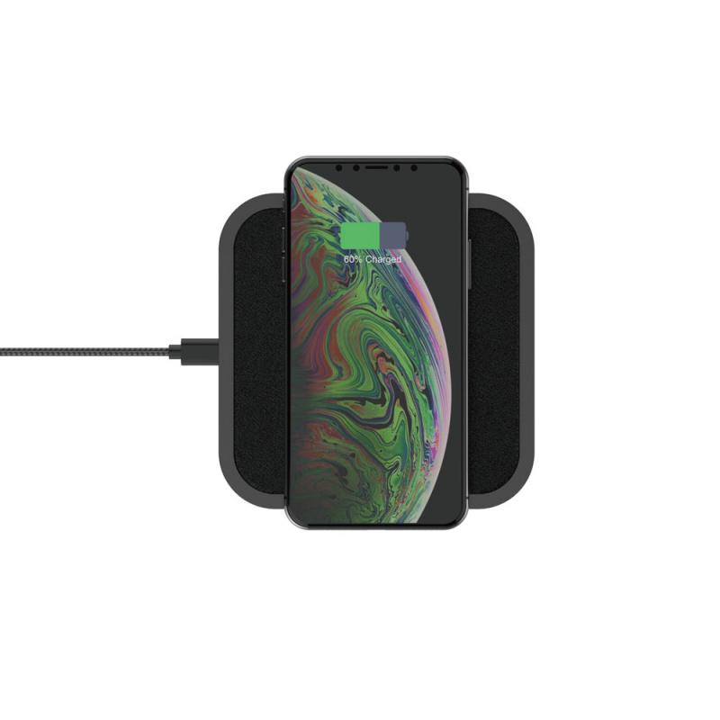 Elementz 15W 皮面纖薄無線充電板[FC-001]