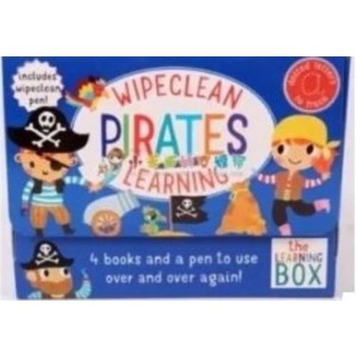 St Martin's Press WipeClean 可擦寫 練習冊 Pirates [一盒4本+1支筆)