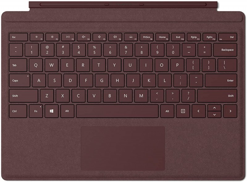 Microsoft Surface Pro Signature Type Cover 鍵盤保護蓋 [紅色]
